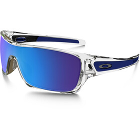 Oakley Turbine Rotor Gafas ciclismo, polished clear/sapphire iridium
